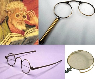 history of glasses
