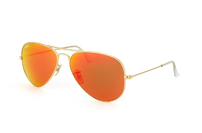 Ray Ban Aviator Gold Metal with Mirror Lenses 758d87f8da9